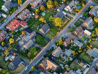 Landscape city view image